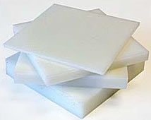 Placas de polietileno de alta densidad